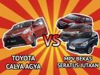 Mobil Bekas Alternatif untuk Toyota Calya