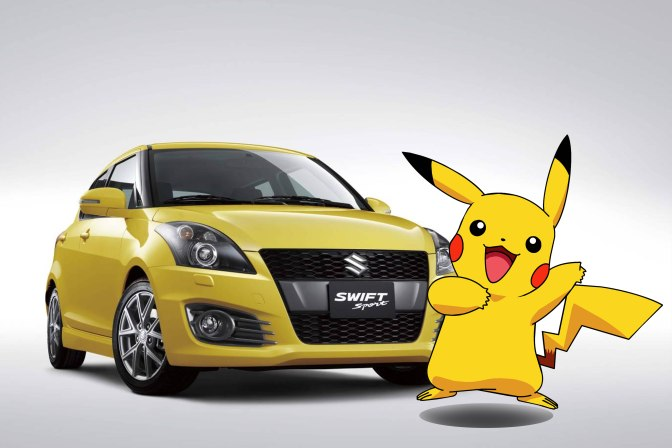 swift - pikachu